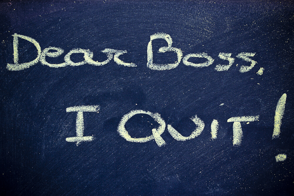 Speaking Up When You Quit