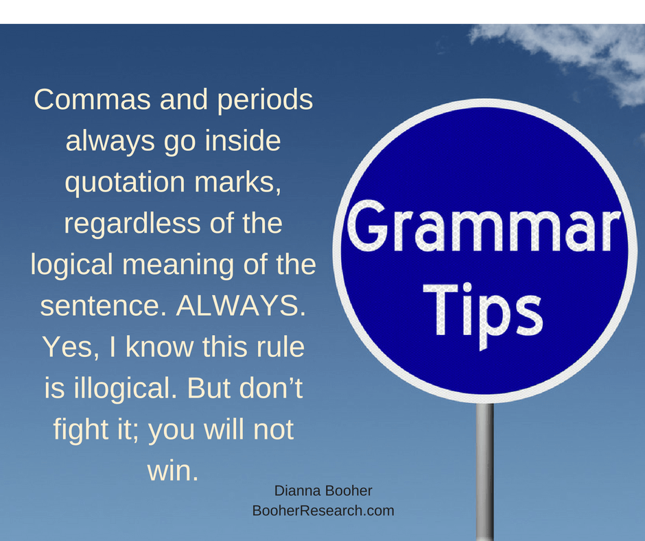 Common Grammar Mistakes