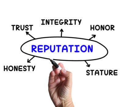 integrity, leadership, trust