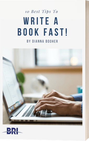 write a book fast with these 10 tips